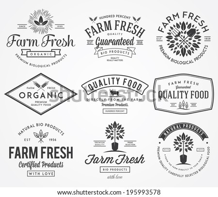 Bakery vector badges for any use - stock vector