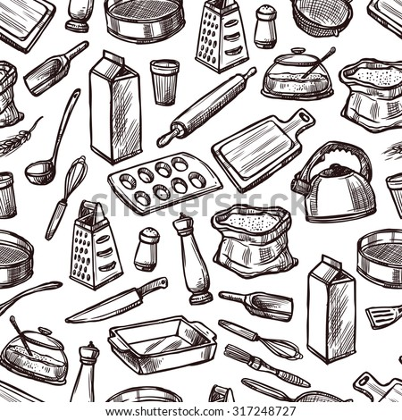 Baking Tools And Equipment vector baking tools stock images, royalty-free images & vectors