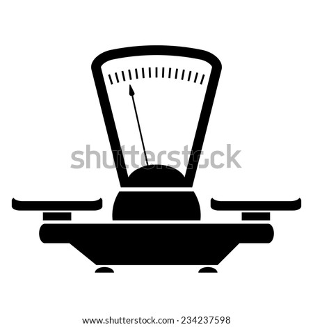 Balance icon - stock vector