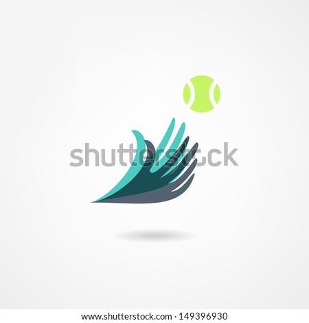 ball game icon - stock vector