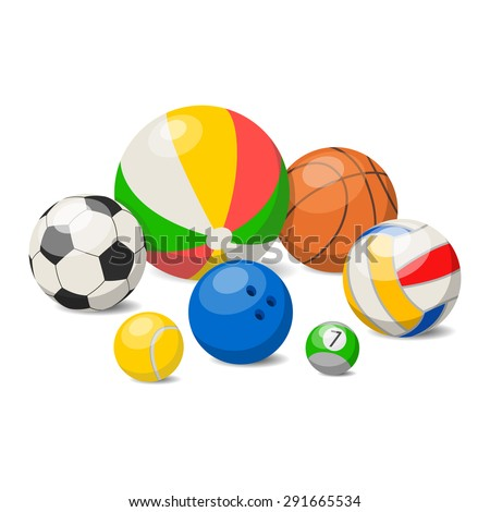 Ball sport - stock vector