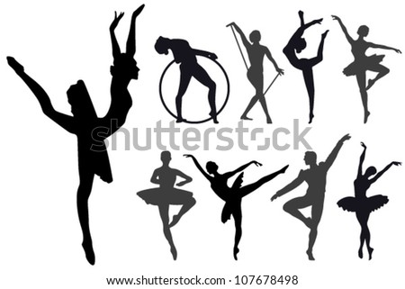 Ballet steps and exercises