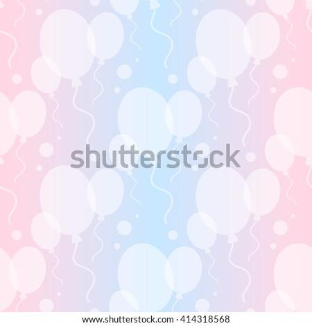 ballons background - stock vector