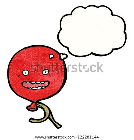 balloon cartoon character - stock vector