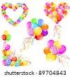 Balloons design. Vector illustration - stock vector