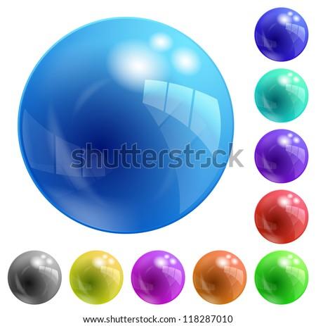 balls - stock vector