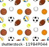 Balls Patterns - stock photo