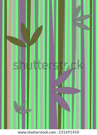 Bamboo ,background. - stock vector