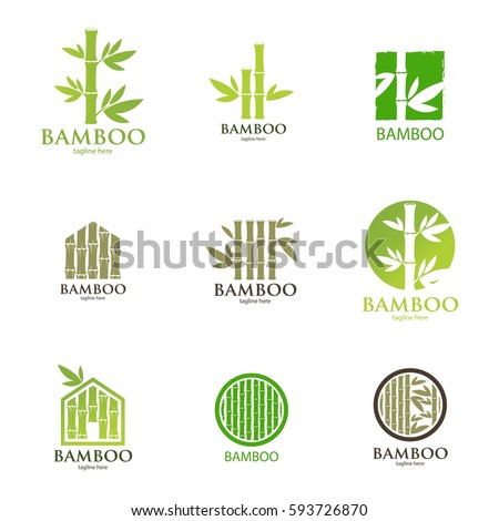 Bamboo nature logo