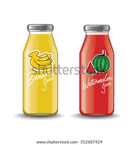 Juice Bottle Stock Vectors & Vector Clip Art | Shutterstock