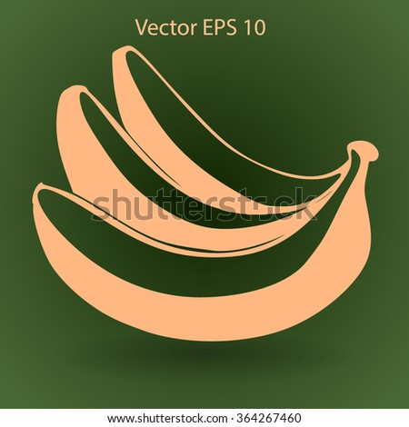 Bananas icon. Vector