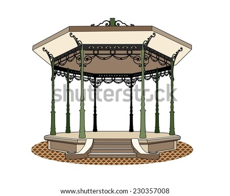 Bandstand romantic