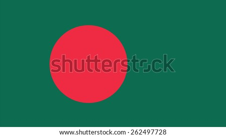 bangladesh Flag for Independence Day and infographic Vector illustration. - stock vector