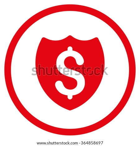 584373493 on Insurance Symbol Of A Shield With Dollar Sign Free