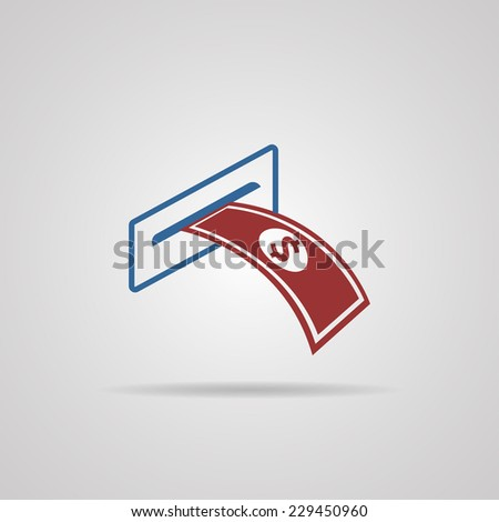 banking icon. vector illustrations - stock vector
