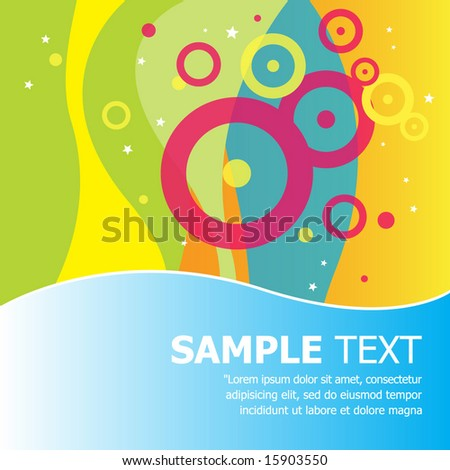 Banner and background design. Vector Illustration. - stock vector