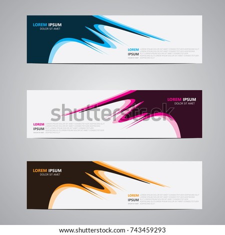 Banner background.Modern template design