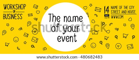 banner design for event workshop banner design of ideas template banner of layout - Banner Design Ideas