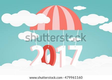 Banner design 2017 happy new year stock vector royalty free banner design for 2017 happy new year merry christmas greeting card calendar reheart Image collections