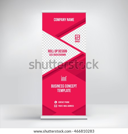 Banner Design Graphic Business Style Template Stock Vector