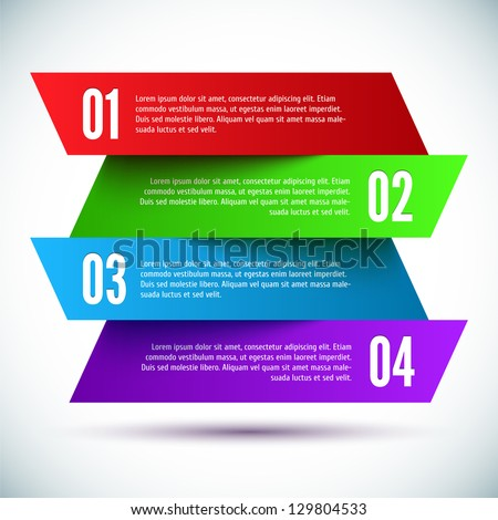 Banner design template stock vector 129804533 shutterstock banner design template pronofoot35fo Choice Image