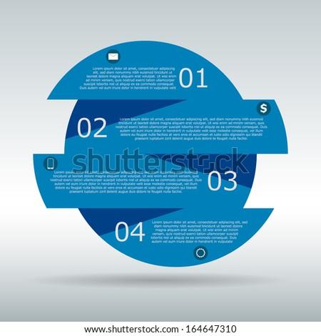 Banner Design template - stock vector