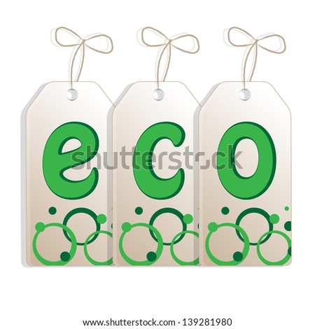 banner on the theme of ecology