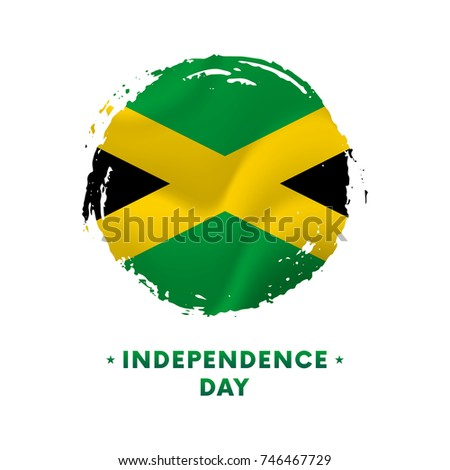 Banner Poster Jamaica Independence Day Celebration Stock Vector - Jamaica independence day