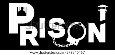 Prison Fence Graphic prison guard stock images, royalty-free images & vectors