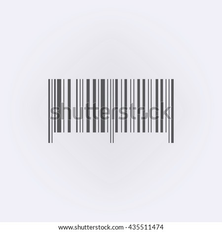 Bar code symbol . Vector illustration