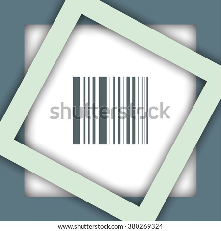 bar code vector icon