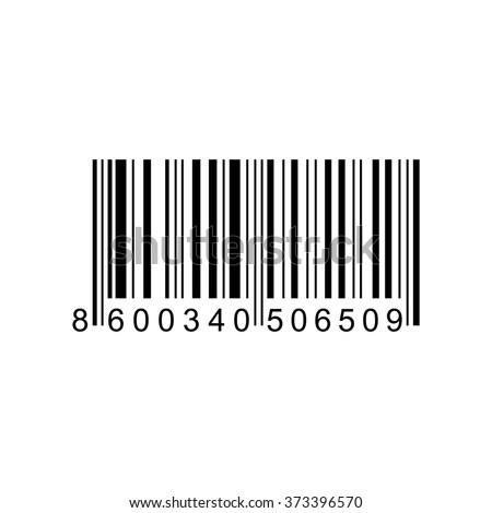 Bar code  . Vector illustration - stock vector