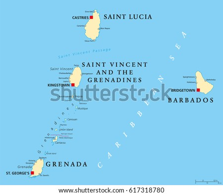 Windward Islands Stock Images Royalty Free Images