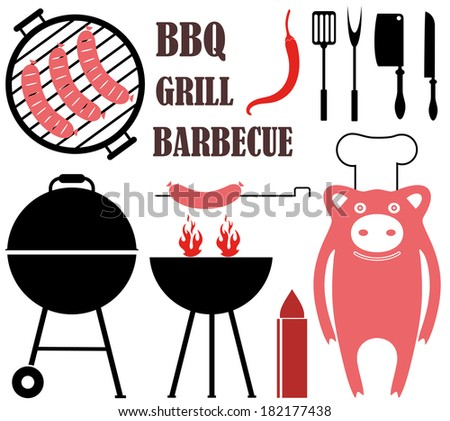 Barbecue Grill - stock vector