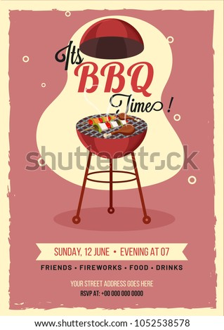 Barbeque Flyer Template Onweoinnovate