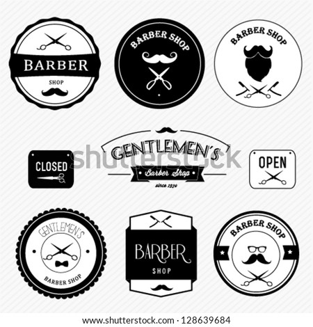 Barber shop - stock vector