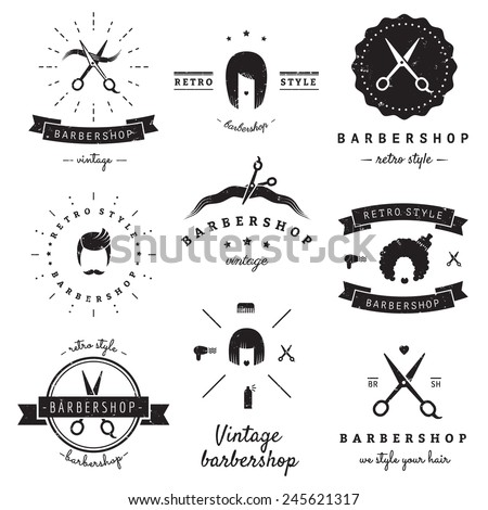 Hair Salon Logo Stock Images Royalty Free Images