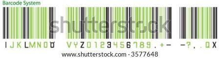 barcode - stock vector