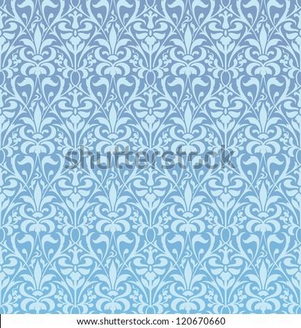 Baroque pattern - stock vector