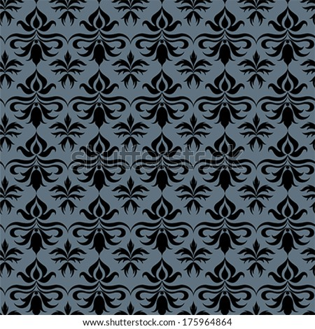 Baroque pattern including seamless sample in swatch panel