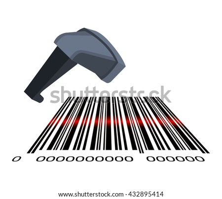 bars code design  - stock vector
