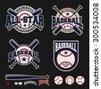 Baseball badge logo design For logos, badge, banner, emblem, label, insignia, T-shirt screen and printing