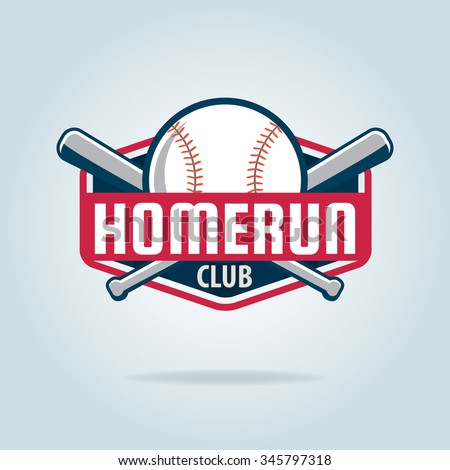 Baseball badge,sport logo,team identity,vector illustration - stock vector