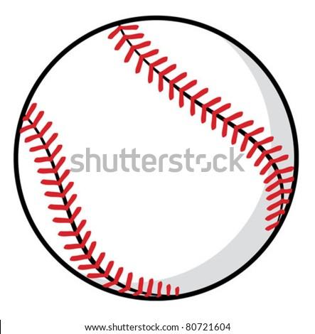 baseball ball stock photo photo vector illustration 80721604 rh shutterstock com Baseball Vector Logo Baseball Stitches Vector Clip Art