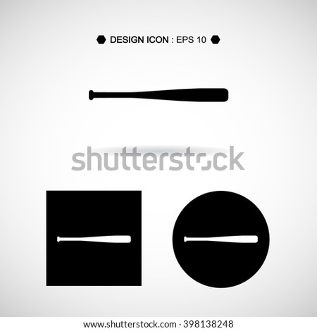 Baseball Bats Set Vector EPS10, Great for any use. - stock vector