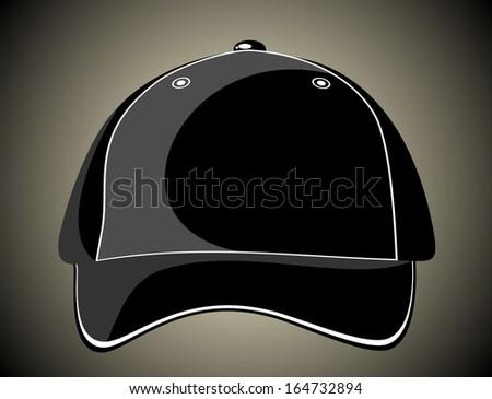 Baseball cap - stock vector