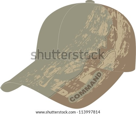 Baseball cap for man and boys - stock vector