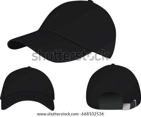 Baseball Cap Template Vector Stock Vector HD (Royalty Free ...