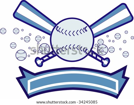 Baseball Design - stock vector
