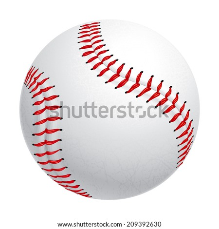 Baseball Exclusive. Only on this site. - stock vector